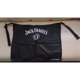 Mandil Jack Daniels Mesero Barista Barber Cdmx Df