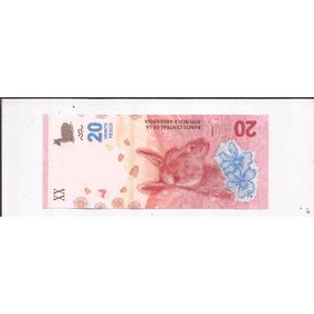 Nuevo Billete De 20 Pesos Sin Circular