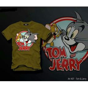 Remera Hombre Tom Y Jerry Envios