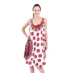 15d73d31c904e Vestido Jcpenney Negro Estampado Talla - Vestidos de Mujer Rojo en ...