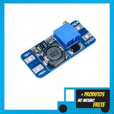 Conversor Dc-dc Step Up Boost Tensão Mt3608 2a Para Arduino
