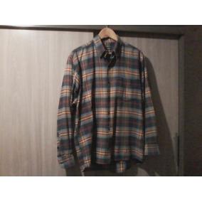4b114632066 Camisa Quadriculada   Marca Ogochi - Camisa Manga Longa Masculinas ...