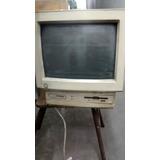 Computadora Compaq Antigua Con Monitor