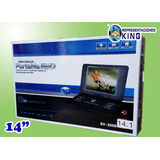 Reproductor Dvd Portable 14 Multiformato
