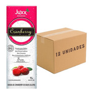 12x Suco De Cranberry Zero Juxx 1 Litro