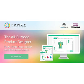 Fancy Product Designer 3.8.0 Woocommerce/wordpress Plugin