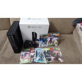 Xbox 360 Desbloqueado 4 Gb + 7 Jogos