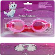 Óculos De Natação Piscina Infantil Gata Marie Disney - Gedex
