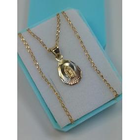 Medalla Para Bautizo De Virgen En Forma De Gota De Oro Lamin