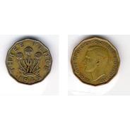 Moneda 3 Pence - Inglaterra - 1945