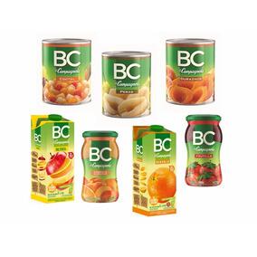 Pack Productos Bc. Jugos, Mermeladas Y Frutas En Conserva