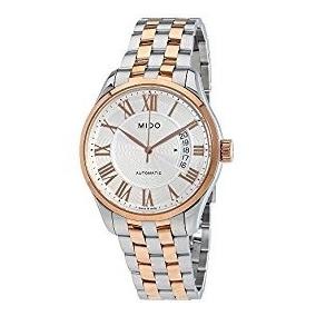 Reloj Mido M0244072203300 En Plata Y Oro Rosado P/caballero