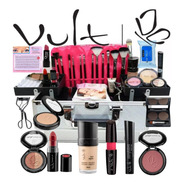 Maleta De Maquiagem Completa Original Vult Profissional Top
