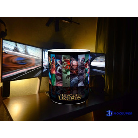 Taza Magica League Of Legends, Taza Lol, Riot , Campeones