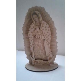 Virgen De Guadalupe 25 Cm Paquete 12 Piezas