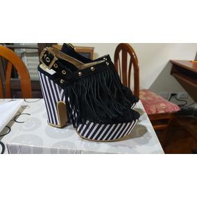 11bbf35b Zapatos Mujer Plataformas Rayadas Blanco Y Negro - Ropa y Accesorios ...
