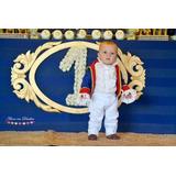 Fantasia Roupa Pequeno Principe Bebe Infantil
