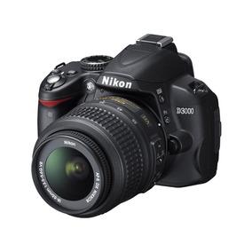 Cámara Nikon D3000 +objetivo Nikkor 18-55 Mm + Bolso