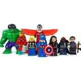 Set Avengers Hulk Iron Man Thor Compatible Lego