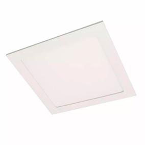 Panel Plafon Spot Led 18w Embutir Cuadrado Plafon Blanco