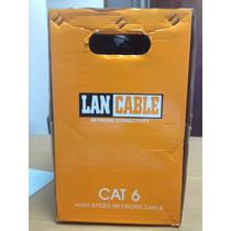 Cable Utp Cat 6 305 Metros Lan Cable 100% Cobre