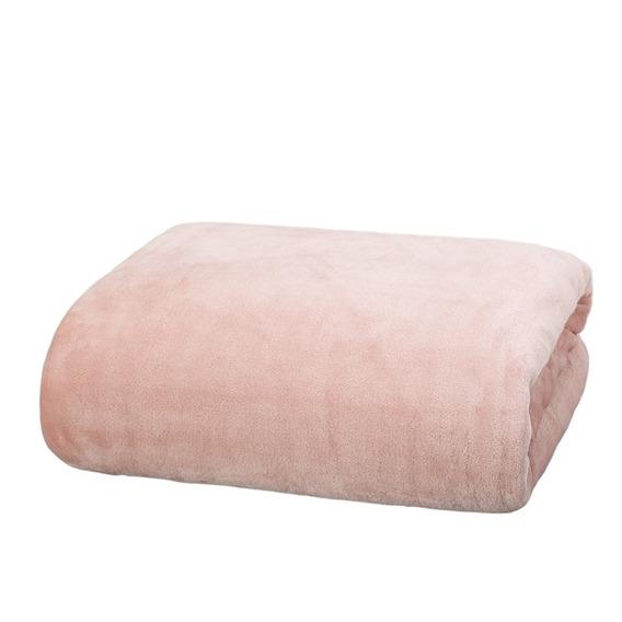 Frazada Arredo King Size Baby Skin - Color Rosa