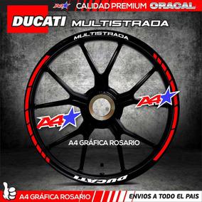 Ducati Monster Multistrada Scrambler Diavel Calcos Llantas