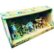 Dinosaurio Set X6 Muñecos Goma 8 Cm Nuevo Cod 0264 Bigshop