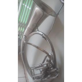 Tuba Elicon Souzafone Scavone Antigo De Pouco Uso Conservado