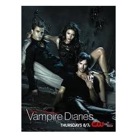 Caderno 10 Materia Com Adesivos The Vampire Diaires 766575
