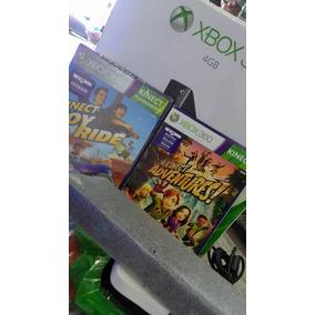 Xbox 360 + 50 Jogos Originais No Hd + Kinect * Leia Descriçã