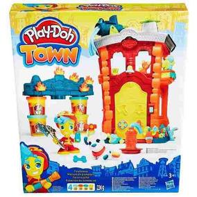Playset Torre Quartel Dos Bombeiros Massinha Play-doh Hasbro