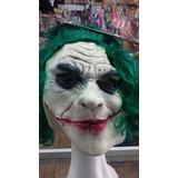 Mascara El Guason Completa Latex Con Pelo. Chirimbolos