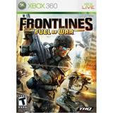 Frontlines: Fuel Of War. Xbox 360. Nuevo Y Sellado