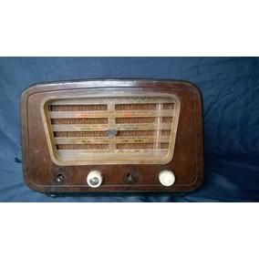 Radio Pt Capelinha Semp Madeira Lindo Antigo Frete Gratis