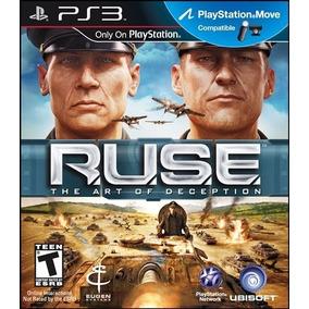 Jogo Ruse The Art Of Deception Ps3 Sony Playstation Original