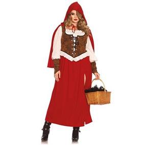 disfraz leg avenue mujeres woodland caperucita roja