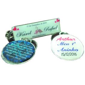 20 Chaveiros Personalizados P/ Lembranças Casamentos E Afins