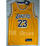 6210851b56 Camisa Los Angeles Lakers Nº23 James Amarela - Nba