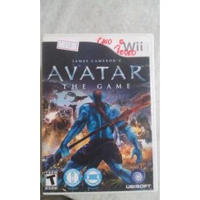 Jogo Nintendo Wii Avatar The Game Original Lote112