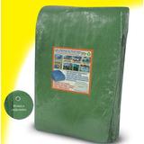 Lona Verde 9x5 Cobertura Em Geral Barraca Camping 300 Micras
