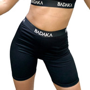 Calza Biker Deportiva Badaka Mujer Original