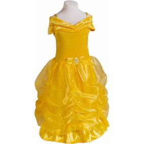 Disfraz Bella Y La Bestía Vestido Princesas Primera Calidad