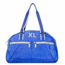 Xl Extra Large Sandro Bolso Color Azul Cartera Para Mujer