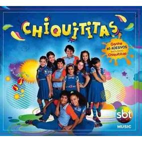 Cd Chiquititas Volume 01 26 Adesivos Gratis Novo Nfe