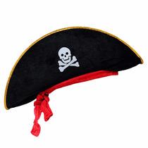 Sombrero Pirata Disfraz Fiesta Pirata Bodas