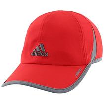 Adidas Hombres Adizero Ii Cap, One Size, Scarlet / Onix