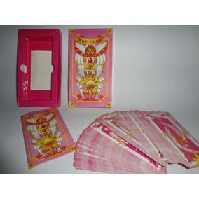 Cartas Clow Sakura Card Captor Clamp 54 Cartas Rosa