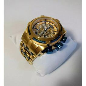 Relógio Wwp0944 Invicta Bolt Zeus 12900 Azul Original Saldão