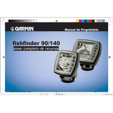 Manual Em Português Do Sonar Garmin Fishfinder 90/140